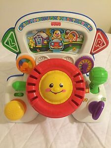 Fisher price steering wheel Kearns Campbelltown Area Preview
