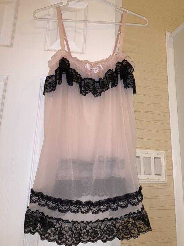 victoria secret Pink slip dress