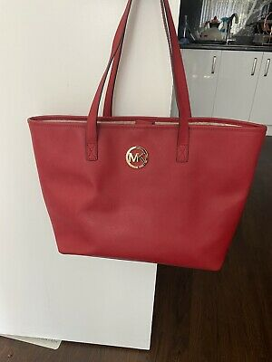 MK Large Red Bag