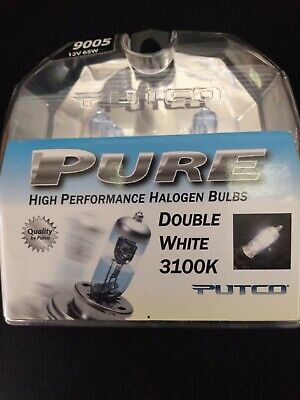 PAIR OF PUTCO 239005DW PURE DOUBLE WHITE 3100K HALOGEN BULB 12V 65W