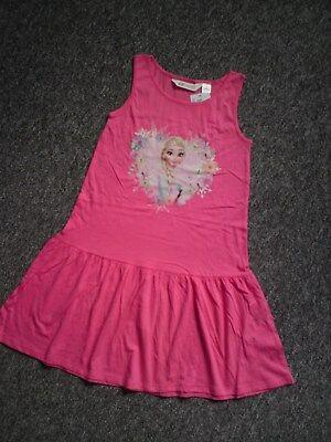 Kleid Elsa Disney Frozen * H&M Pink 134 140 *° Neu (Disney Frozen Elsa Kleid)