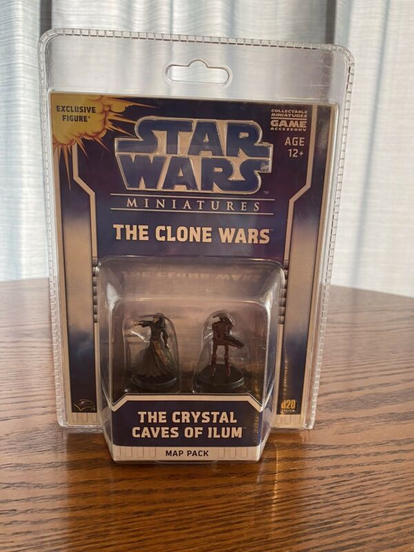 Star Wars The Clone Wars Miniatures The Caves Of Ilum Map Pack
