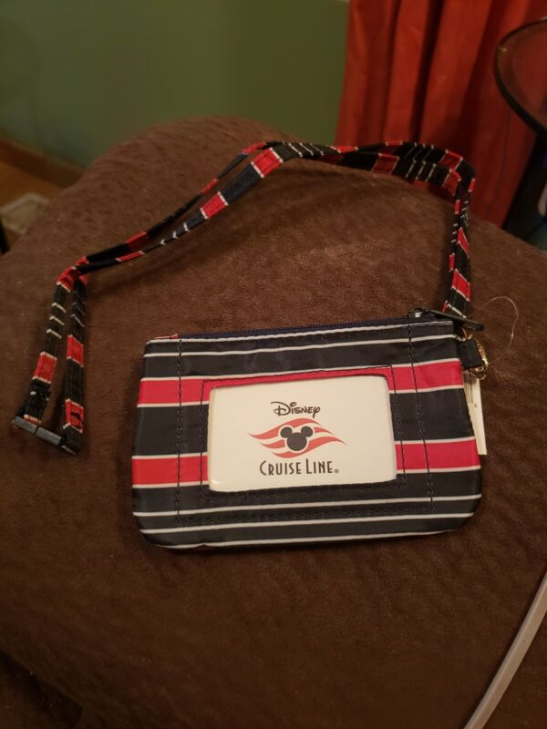 Disney Cruise Line Card Holder With Strap