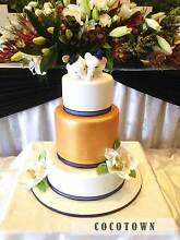 Wedding cakes by COCOTOWN Bentleigh Glen Eira Area Preview