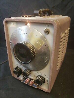 Vtg Hp Hewlett-packard Audio Oscillator 200ab Test Equipment Sold As Functional