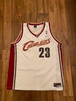 LeBron James #23 Cleveland Cavaliers NBA finals nike Jersey XL mens