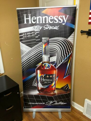 HENNESSY COGNAC LARGE DISPLAY BANNER VERY SPECIAL MAN CAVE DECOR SIGN
