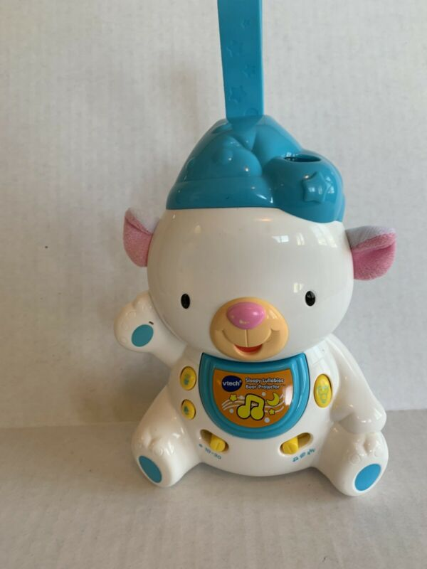 VTech Baby Sleepy Lullabies Bear Projector White Blue