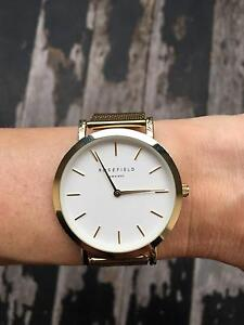 Rosefield Watches AMS/NYC - The Mercer, White - Gold (38mm) Paddington Eastern Suburbs Preview