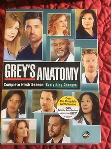 Grey's Anatomy  season's 1-9