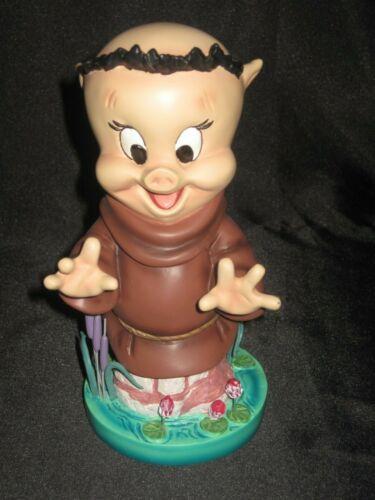 Grand Jester Looney Tunes Porky Pig as Friar Tuck Figurine 4053362 Robin Hood