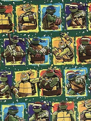 Teenage Mutant Ninja Turtles Christmas Gift Wrapping Paper TMNT 70 sq ft roll