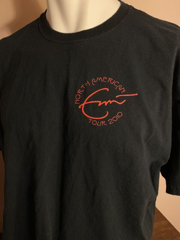 Eric Clapton 2010 Local Crew Shirt Size XL Preowned