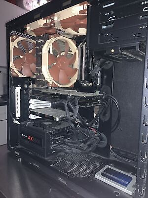 HIGH PERFORMANCE GAMING PC IN**PRISTINE CONDITION** W/ GREAT CABLE MANAGEMENT.