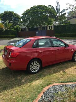 2009 Subaru Impreza G3 MY10 Sedan AWD Red 5 Speed Manual Cleveland Redland Area Preview