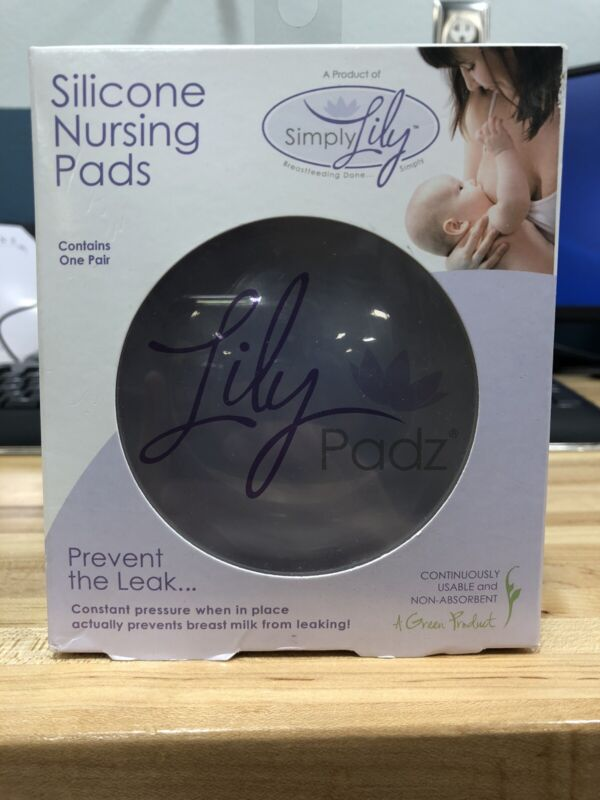 LilyPadz® Reusable Silicone Nursing Pads Single Pair