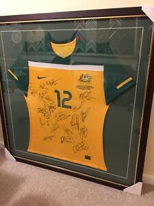 Official Socceroos Player Issued Shirt Signed by the official squad