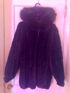 Beautiful Real Mink And Leather Reversible Coat