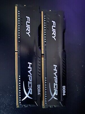 Hyperx Fury 2400mhz 2x4gb