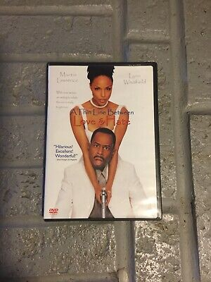 A Thin Line Between Love and Hate (DVD, 1999) Martin Lawrence Lynn Whitfield