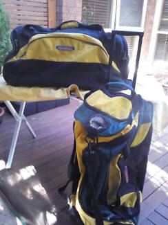 SPORT - DUFFEL BAGS X2 $30 EACH OR BOTH FOR $50