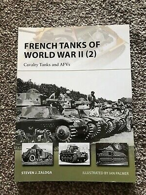 Osprey New Vanguard - French Tanks of World War II (2) Cavalry Tanks & AFVs