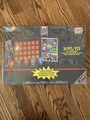 NEW 2019 Funko Pocket POP Marvel 80 Years 24 Piece Advent Calendar Sealed!