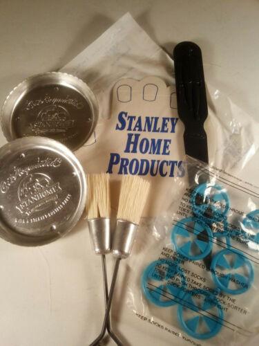 Stanley Fuller Lot: Letter Opener/Basting Brushs/Jar Opener/Sock Sorter/Coasters