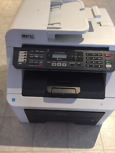Mfc 9125 brother colour laser printer fax scanner copier