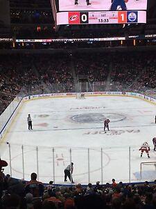 Oilers Vs Maple leafs  Edmonton Edmonton Area image 1