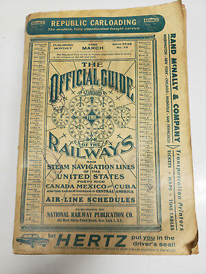 Official Guide of the Railways 1962 March