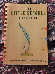 The little seagull handbook good condition