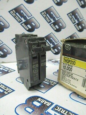 Ge Thqp230 30 Amp 120240 Volt Double Circuit Breaker -new Style- New In Box