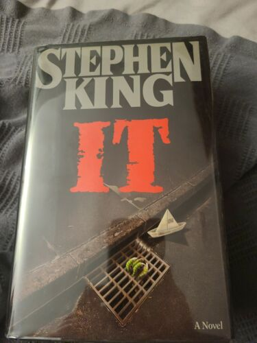 It By Stephen King 1986, Hardcover 1st/1st - $11.50