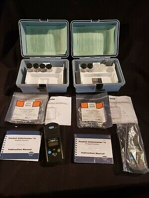 Hach Pocket Colorimeter Ii Cl2 Chlorine Test Kit