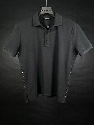 Used, VALENTINO GARAVANI Men's Rockstud Untitled #16 Polo Shirt, Black, Size Large for sale  Belfast