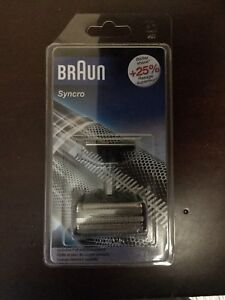 Braun men's Shaver foil and cutter for Synchro models