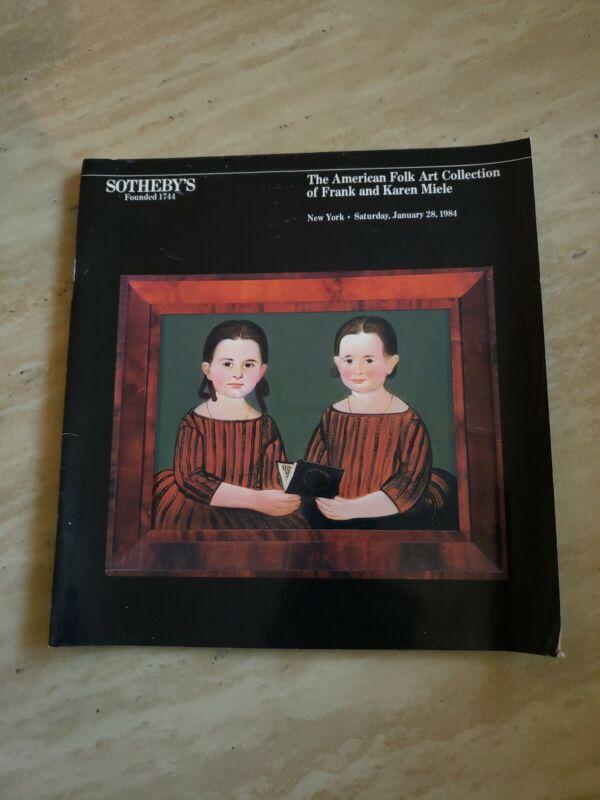 SOTHEBY'S Americana Folk Art Weathervane Miele Collection Auction Catalog 2984