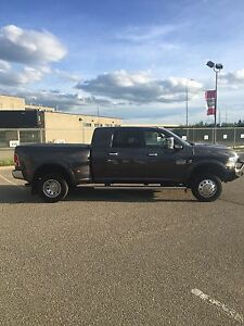 2014 Ram 3500 Longhorn Mega cab Dually with everything.