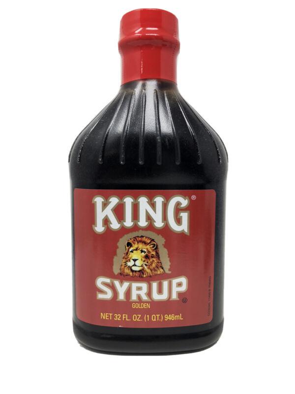 King Syrup Golden 32 Oz Bottle