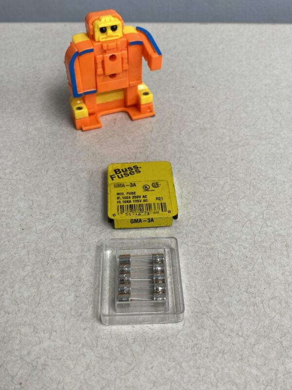 Cooper Bussmann GMA-3A Fuses, *Lot of (2) 5-Packs*