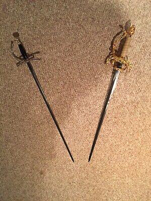 2 Princess Bride Sword Replicas-Inigo Montoya and Dread Pirate -