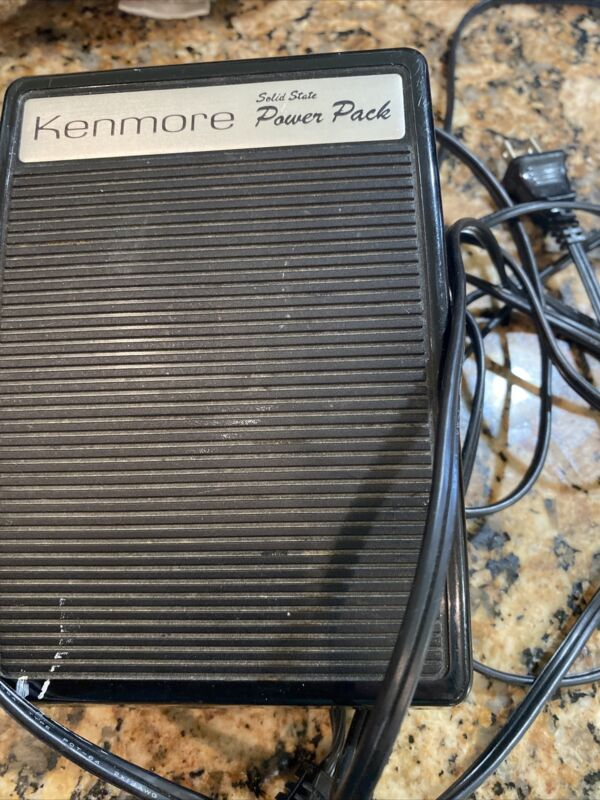 Kenmore Solid State powee pack model YC-3554 Foot Control pedal