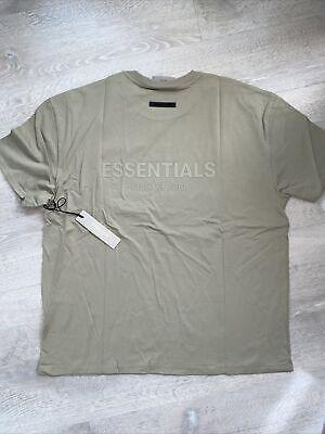 FOG - Fear Of God Essentials Pistachio T-shirt Men's Size XL (FW21) Back Logo