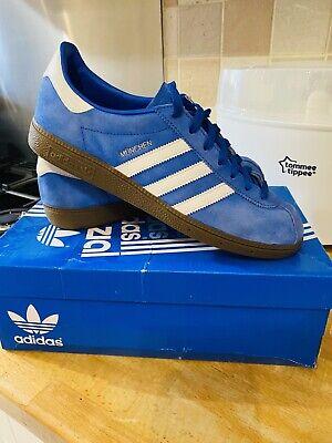 Adidas Munchen SPZL Blue/White Size 10 Great Condition