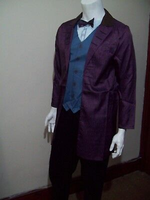 MENS  DR WHO   11th  DOCTOR   FANCY DRESS COSTUME SIZE   X LARGE