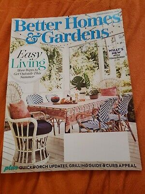 Better Homes And Gardens Magazine June 2019 grilling guide what's new with