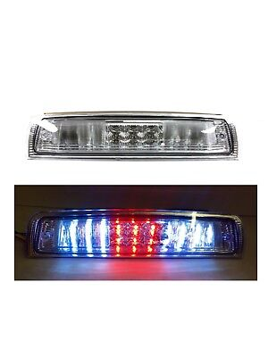 2009-2016 Dodge Ram 1500 2500 3500 LED Clear Chrome 3rd Third Brake Light