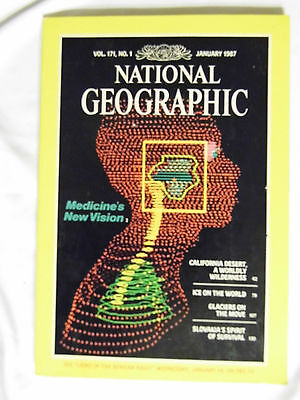 National Geographic Magazine January 1987 Medicines New Vision