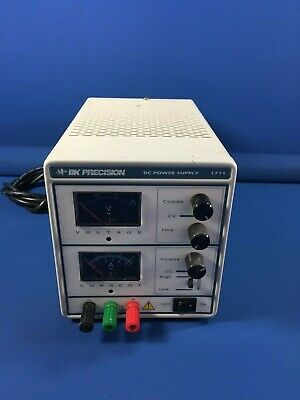 Bk Precision 1711 Dc Power Supply Model 120v 210w